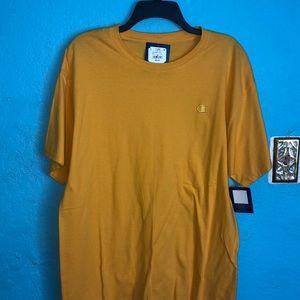 New yellow champion t-shirt